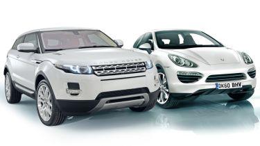 Range Rover Evoque vs Porsche Cajun