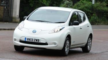 Used Nissan Leaf Mk1 - front