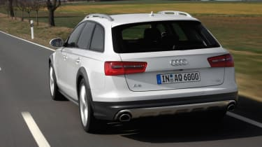 Audi A6 Allroad rear tracking