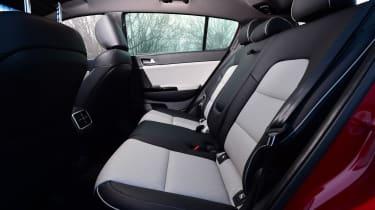 Kia Sportage GT Line 2016 - rear seats