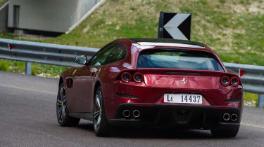 Ferrari GTC4 rear - Footballers' cars