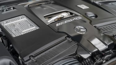 Mercedes-AMG S 63 Coupe - engine