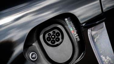 Porsche Taycan - charge port