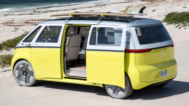 Volkswagen I.D. Buzz concept review - sliding door