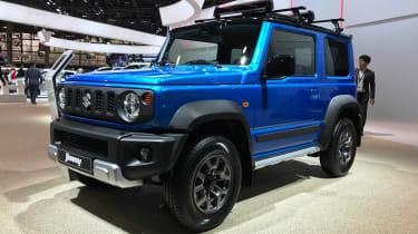 Suzuki Jimny - Paris front