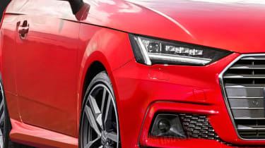 New Audi A1 front exclusive render detail