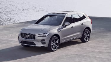 Volvo XC60 facelift - front