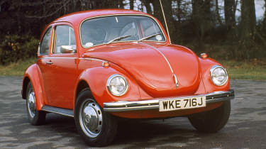 VW Beetle - front