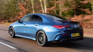 Mercedes-AMG CLA 35 - rear