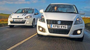Suzuki Swift Sport vs Renault Clio Gordini