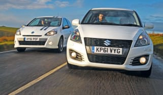Suzuki Swift Sport vs Renault Clio Gordini