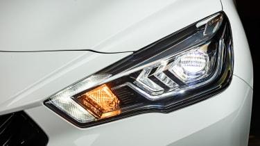 Nissan Micra N Sport - front light