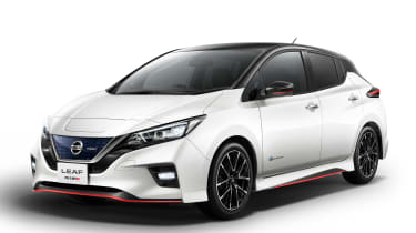 Nissan Leaf Nismo - white