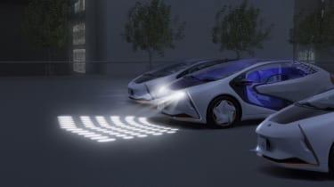 Toyota LQ concept - lights
