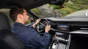 Audi Q7 55 TFSI - James Howe driving