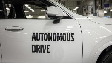 Autonomous Volvo XC90