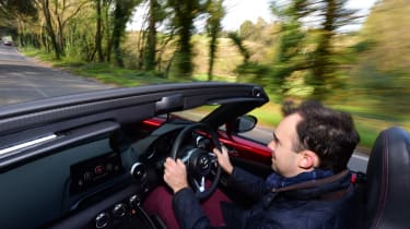 Mazda MX-5 long termer - first report driving