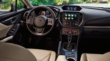 Subaru Impreza - dash