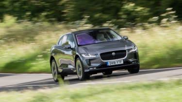 Jaguar I-Pace - front action