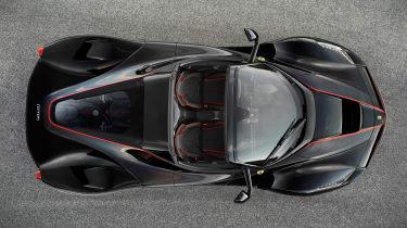 LaFerrari open-top model official - overhead
