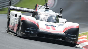 Porsche 919 fastest Ring times