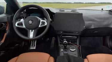 BMW 2 Series Coupe prototype - dash