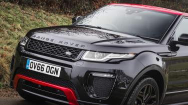 Range Rover Evoque Ember - front
