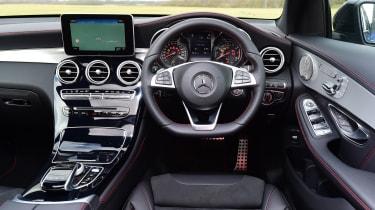 Mercedes-AMG GLC 43 Coupe - dash
