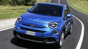 Fiat 500X - full front action