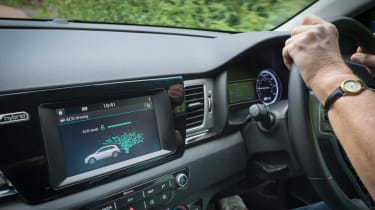 Living with an EV - Kia Niro interior