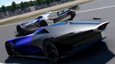 Peugeot L750 R Hybrid Vision Gran Turismo - together track