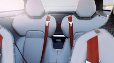 Volvo Concept Estate rear seats