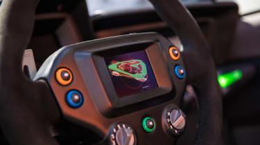 Nissan BladeGlider review - steering wheel