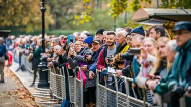 London to Brighton Veteran Car Run  -  crowd