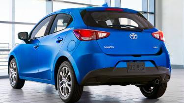 Toyota Yaris - rear 3/4 static