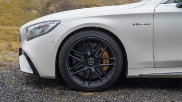 Mercedes-AMG S 63 Coupe - side detail