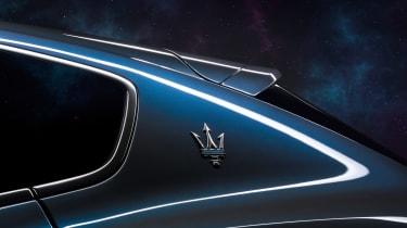 Maserati Levante Hybrid - Maserati badge