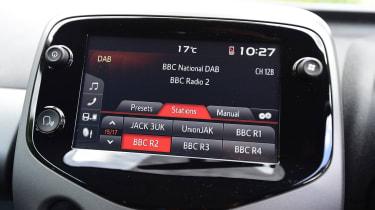 Toyota Aygo - Radio