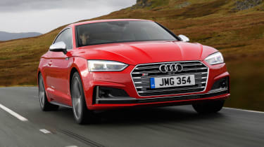 Audi S5 Coupe - front