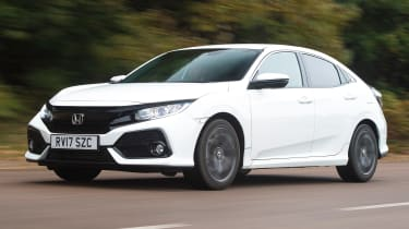Honda Civic long-term review - Civic front