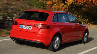 Audi A3 Sportback 1.4 TFSI rear tracking