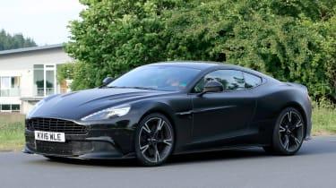 Aston Zagato front side
