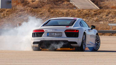Audi R8 RWS - rear drift