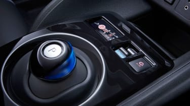 New Nissan Leaf - interior detail