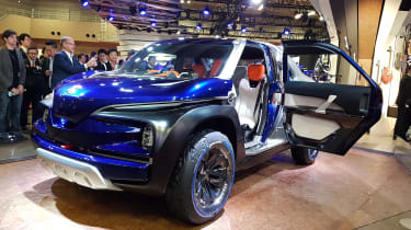 Yamaha Cross Hub concept front