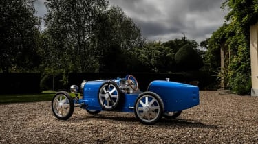 Bugatti baby Type 35 - rear