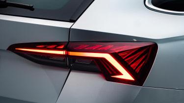 Skoda Octavia - rear lights