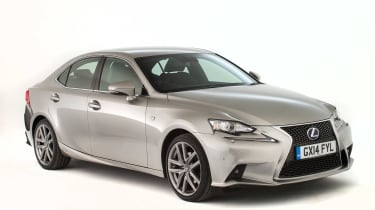 Used Lexus IS - front