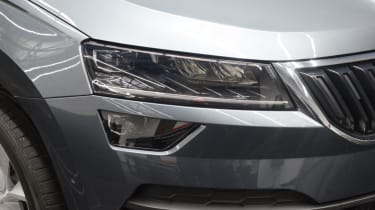 Skoda Karoq lights