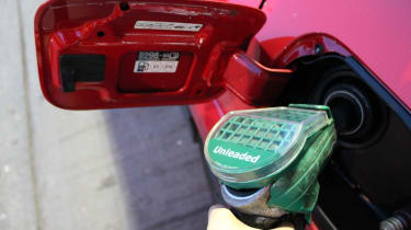 Honda Civic Type R GT - fuel
